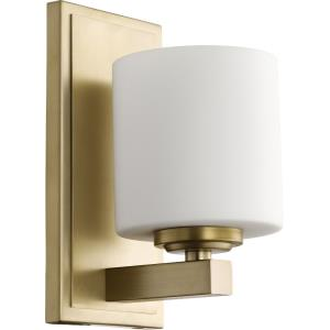"""9.25"""" One Light Cylinder Wall Mount"""