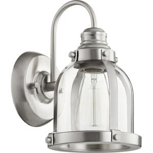 Banded Dome - One Light Wall Mount
