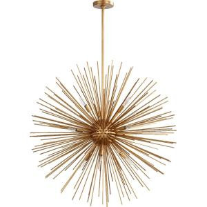 Electra - Ten Light Pendant in Contemporary style - 35 inches wide by 35 inches high