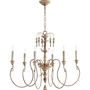 Salento - 6 Light Chandelier in Transitional style - 32 inches wide by 28 inches high