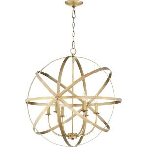 Celeste - 6 Light Sphere Chandelier in  style - 25.5 inches wide by 27 inches high