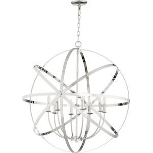 Celeste - Eight Light Sphere Chandelier