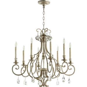 Ansley - 8 Light Chandelier in Transitional style - 29 inches wide by 26.5 inches high
