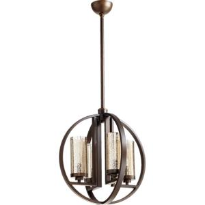 Julian - 4 Light Chandelier in Transitional style - 19 inches wide by 20.25 inches high