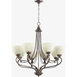 Lariat - Eight Light Chandelier