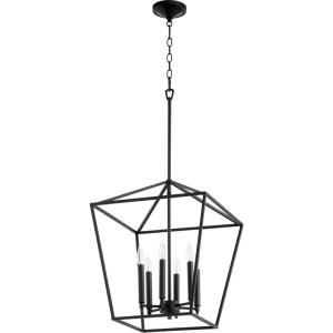 Gabriel - 6 Light Entry Pendant in Quorum Home Collection style - 17 inches wide by 21 inches high
