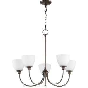 Celeste - 5 Light Chandelier in  style - 27 inches wide by 24.5 inches high
