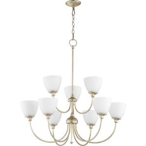Celeste - 9 Light 2-Tier Chandelier in  style - 32 inches wide by 33.5 inches high