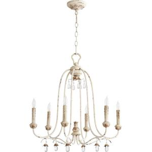 "Venice - 24.50"" Six Light Chandelier"