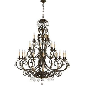 Rio Salado - Twenty-One Light 3-Tier Chandelier