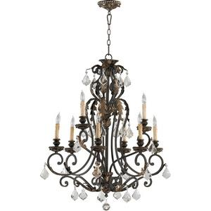 Rio Salado - Nine Light 2-Tier Chandelier