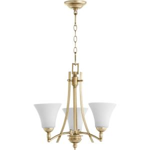 Aspen - 3 Light Chandelier in Transitional style - 20.5 inches wide by 19.25 inches high