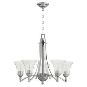Aspen - 5 Light Chandelier in  style - 27 inches wide by 21.5 inches high