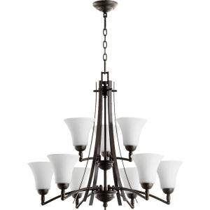 Aspen - Nine Light Chandelier