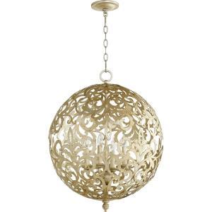 Le Monde - Four Light Sphere Chandelier