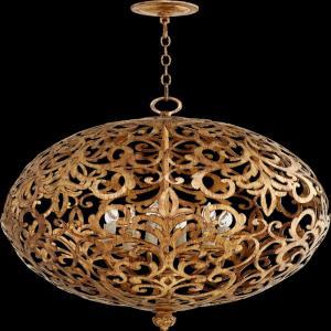 Le Monde - Six Light Sphere Chandelier