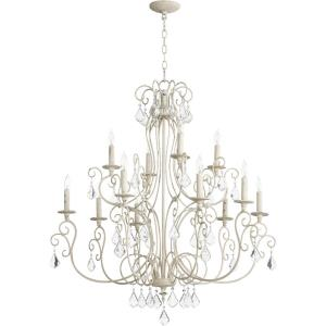 Ariel - Twelve Light 2-Tier Chandelier
