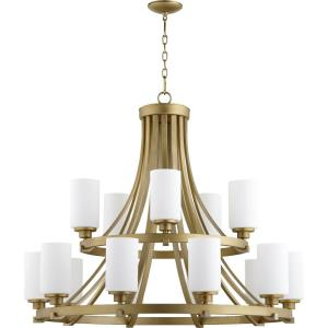Lancaster - Fifteen Light 2-Tier Chandelier