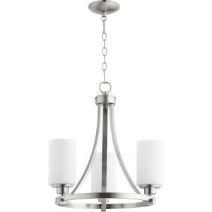 Lancaster - 3 Light Chandelier in Transitional style - 18 inches wide by 19.25 inches high