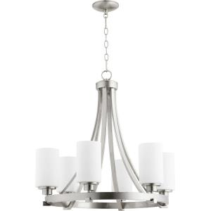 Lancaster - 6 Light Chandelier in Transitional style - 24.75 inches wide by 24.5 inches high