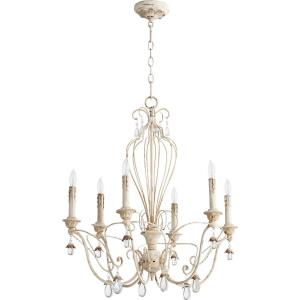 "Venice - 26"" Six Light Chandelier"