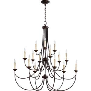 Brooks - Fifteen Light 3-Tier Chandelier