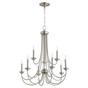 Brooks - Nine Light 2-Tier Chandelier