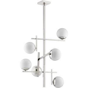Atom - 6 Light 3-Tier Chandelier in Transitional style - 25 inches wide by 30 inches high