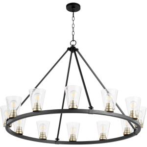 Paxton - 12 Light Chandelier in  style - 45.5 inches wide by 30 inches high