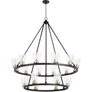 Paxton - 18 Light 2-Tier Chandelier in style - 42 inches wide by 30 inches high