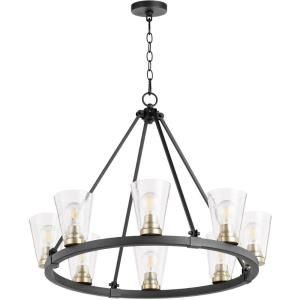 Paxton - 8 Light Chandelier in  style - 30.5 inches wide by 24 inches high