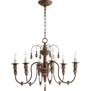 "Salento - 25"" Six Light Chandelier"