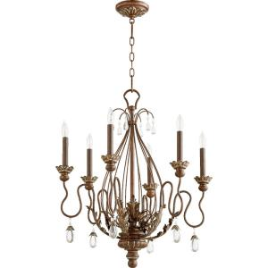 "Venice - 25"" Six Light Chandelier"
