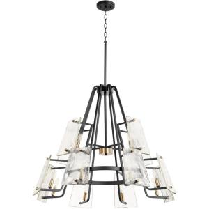 Tioga - 12 Light Chandelier in  style - 32 inches wide by 24.75 inches high