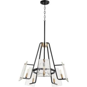 Tioga - 5 Light Chandelier in  style - 25 inches wide by 21.75 inches high