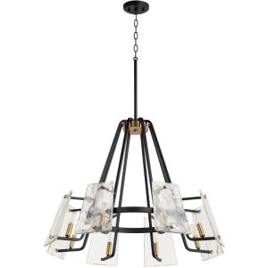Tioga - 8 Light Chandelier in  style - 32 inches wide by 24.75 inches high