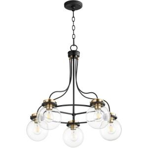Centauri - 5 Light Chandelier in  style - 25 inches wide by 27 inches high