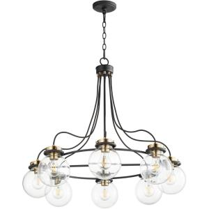 Centauri - 8 Light Chandelier in  style - 32 inches wide by 28.63 inches high