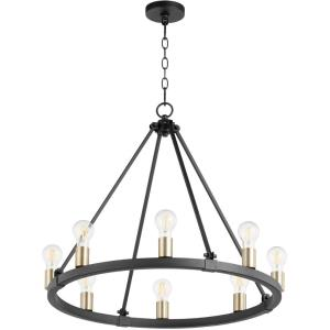 Paxton - 8 Light Chandelier in  style - 27 inches wide by 24 inches high