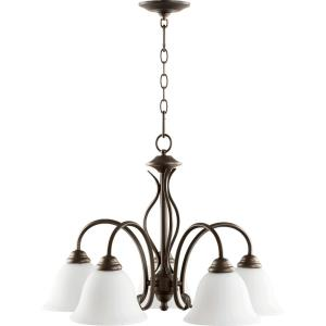 Spencer - Five Light Nook Pendant