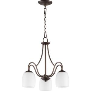 Willingham - 3 Light Nook Pendant in Transitional style - 18 inches wide by 18.25 inches high