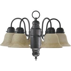 Five Light Chandelier