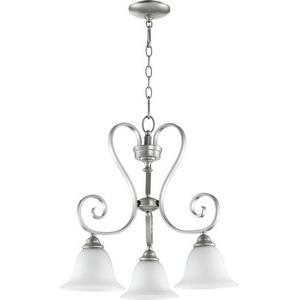 Celesta - 3 Light Nook Pendant in Quorum Home Collection style - 21.25 inches wide by 21.25 inches high