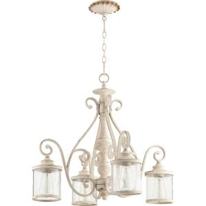 San Miguel - 4 Light Nook Pendant in Transitional style - 27 inches wide by 24 inches high