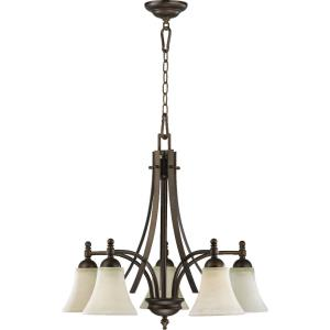 Aspen - 5 Light Nook Pendant in style - 26 inches wide by 22.75 inches high