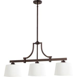 Lancaster - 3 Light Island in Transitional style - 9.5 inches wide by 18.5 inches high