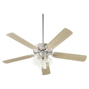 Virtue - 52 Inch 5 Blade Ceiling Fan with LED 3-Light Kit