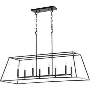 Gabriel - Eight Light Linear Pendant