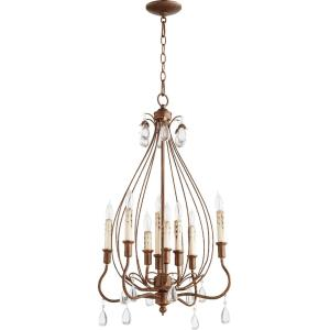 "Venice - 20"" Eight Light Chandelier"