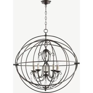 Cilia - 5 Light Chandelier in Transitional style - 31.5 inches wide by 31.5 inches high
